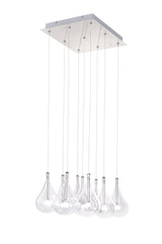 Larmes 9-Light Pendant E20116-18 Single-Tier Chandelier  - Image #1