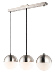 Half Moon LED 3-Light Pendant E20363-92SN Single Pendant  - Image #1