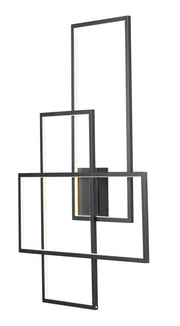 Converge LED Wall Sconce E20708-BK   - Image #1