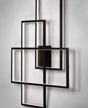 Converge LED Wall Sconce E20708-BK   - Image #3