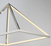 Pyramid LED Pendant E20817-PC   - Image #2