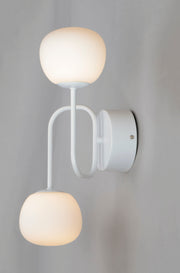 Puffs 2-Light Wall Sconce E21123-11WT   - Image #3