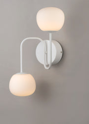 Puffs 2-Light Wall Sconce E21123-11WT   - Image #4