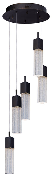 Fizz III 5-Light LED Pendant E22765-89BZ   - Image #1
