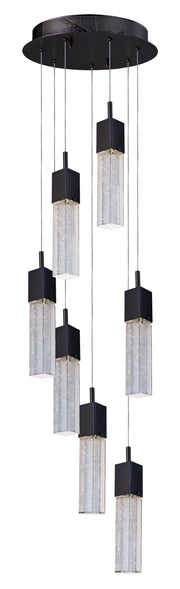 Fizz III 7-Light LED Pendant E22767-89BZ   - Image #1