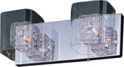 Gem 2-Light Bath Vanity with PC Shade E22832-18PCPC   - Image #1