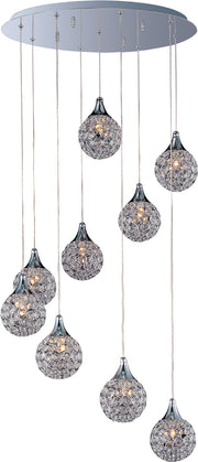 Brilliant 9-Light Pendant E24020-20PC   - Image #1