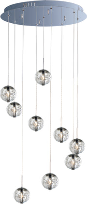 Orb 9-Light Pendant E24254-91PC   - Image #1