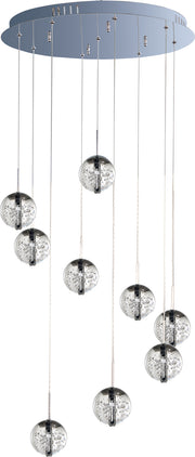 Orb 9-Light Pendant E24254-91PC   - Image #2