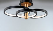 Hoopla LED Semi Flush Mount E24323-BKGLD   - Image #3