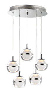 Swank 5-Light Pendant E24595-93PC Suspension Pendant  - Image #1