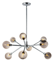Asteroid 9-Light LED Chandelier E24823-138PC Chandelier  - Image #1