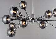 Asteroid 12-Light LED Chandelier E24826-138PC Chandelier  - Image #4