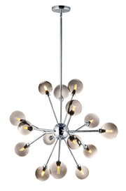 Asteroid 15-Light LED Chandelier E24828-138PC Chandelier  - Image #1