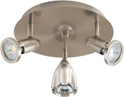 Agron 3-Light Flush Mount E30001-10SN   - Image #1