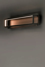 4 Square LED Wall Sconce E30594-BK   - Image #4