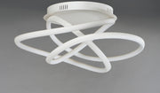 Twisted LED Flush Mount E30640-MW   - Image #2