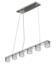 Blocs LED 6-Light Pendant E32034-18PC   - Image #1