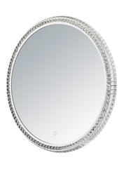 LED Crystal Round Mirror E42004-20 Decor  - Image #1