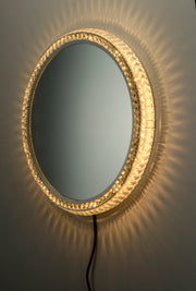 LED Crystal Round Mirror E42004-20 Decor  - Image #3