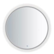 Acrylic LED Round Mirror E42024-83 Decor  - Image #1