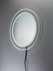 Acrylic LED Round Mirror E42024-83 Decor  - Image #2