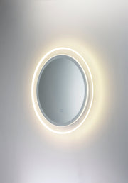 Acrylic LED Round Mirror E42024-83 Decor  - Image #4
