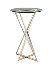 York LED Accent Table E71010-PC   - Image #1