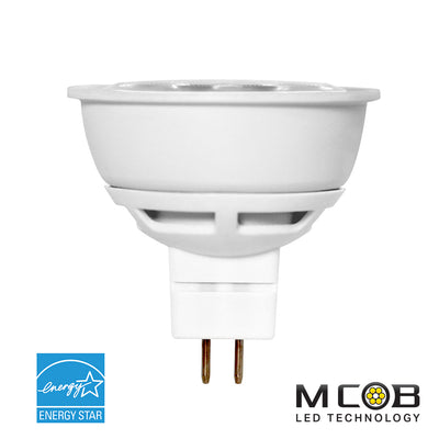 M16 LED 6.5W Watt Lighting Bulb 120V 50W Comparable
