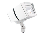 LED Flood Light, 39W, 120-277V, White Arm Mount  - Image #6