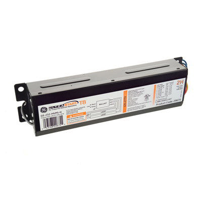 (BLOW OUT SALE) GE T8 Ballast GE332-MVPS-L UltraStart ELectronic Linear Ballast For FLuorescent T8 Fixtures
