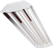 "High Bay 48"" 9000-22500 Lumen 4, 6, 8, 10 or 12 Lamp 18W LED 5000K Lamps Included"