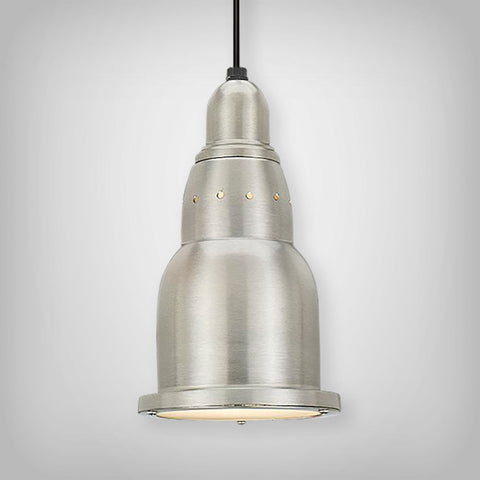 JIB611 Series 1 Light Cord Hung Cafe Lites, Multiple Finishes Available