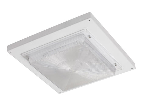 LED Canopy Light, 120-277V, Selectable Wattage and CCT
