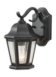 OL5900BK, Small One Light Outdoor Wall Lantern , Martinsville Collection  - Image #1