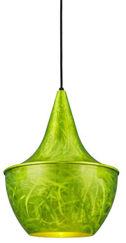 PEL Series 1 Light Pendant, Shocker Green Finish  - Image #2