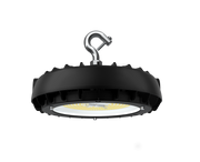 Aries LED UFO High Bay, 100 Watt, 120-277V, 15000 Lumen, 5000K, Black Finish, Comparable to 250 Watt Fixture  - Image #1