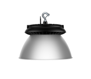 Aries LED UFO High Bay, 150 Watt, 120-277V, 22500 Lumen, 4000K, Black Finish, Comparable to 320-400 Watt Fixture  - Image #4