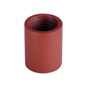 Millennium Lighting RLM Stem Connector Satin Red Finish  - Image #1