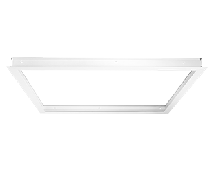 2x2 Recessed Mounting Kit for LED Panels, White