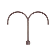 Millennium Lighting Two Light Post Adapter Architectural Bronze Finish