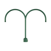 Millennium Lighting Two Light Post Adapter Satin Green Finish  - Image #1