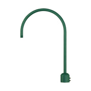 Millennium Lighting Single Light Post Adapter Satin Green Finish