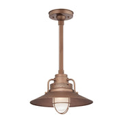 Millennium Lightings RLM/ Warehouse Pendant Offered in Copper finish, Item Number RRRS14-CP