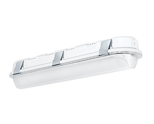 2 Foot LED Linear Washdown, 18W or 25W, 120-277V, White