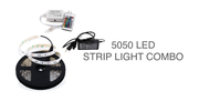 16.4 Ft RGB Color Changing Kit with LED Flexible Strip, 44 key Controller + Remote and 12 Volt 4 Amp Power