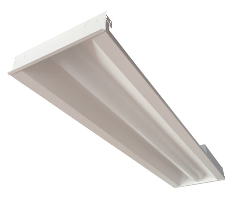 1 x 4 Foot Concord LED Center Basket Troffer, 35W, 120-277V, 3500K or 4000K