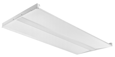 2 x 4 Foot LED Slim Troffer with Center Diffuser, 34 watt, 4250 Lumens