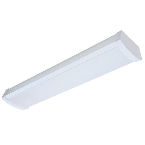 2 Foot LED Linkable Wrap Lighting Fixture, 20 Watt, 2160 Lumen