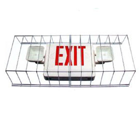 Wire Guards for Exit and Emergency Lights WS-115599